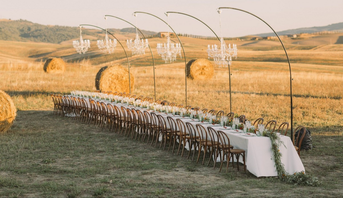 A Magical Wedding in Tuscany, Italy